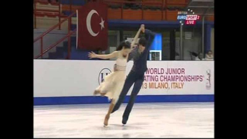 Lorraine McNamara Quinn Carpenter - 2013 World Junior Championships - FD