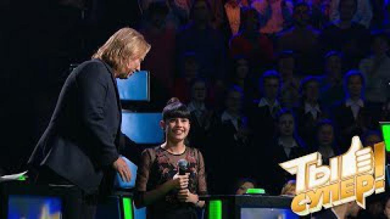 Рождение новой звезды невероятный голос Дианы заставил жюри аплодировать стоя