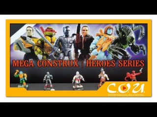 Mega Construx Heroes 3 и 4 серии | TMNT, Hellboy, Alien, Assassin's Creed, Terminator, MOTU
