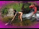 Приколы на рыбалке! Охота на рыбу!