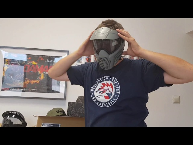 Base Paintball Goggle Unboxing Video - Field and Retail Goggles