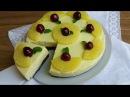 Torta fredda all'ananas senza cottura