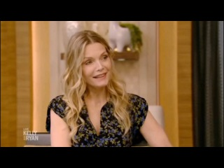 Michelle Pfeiffer interview   LIVE with Kelly and Ryan (Nov 21, 2017)