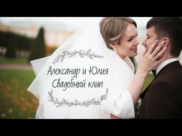 Александр и Юлия | свадебный клип
