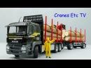 Conrad MAN TGS Doll Log Carrier Neuhauser by Cranes Etc TV