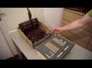 Anita MK8 vintage electronic desktop calculator demonstration