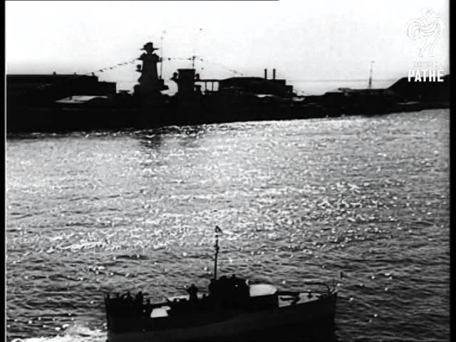 Adolf Hitler Reviews The Fleet (1939)