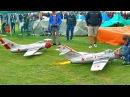 2X MIG-15 SCALE MODEL TURBINE JET AMAZINGLY MODELS FLIGHT DEMONSTRATION
