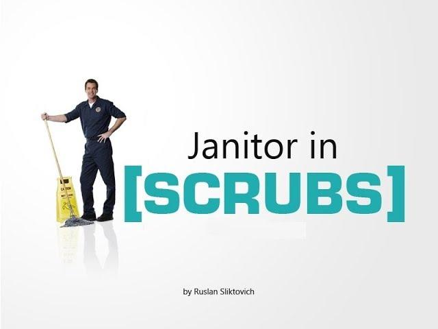 Уборщик. Клиника. 8 сезон (Janitor. Scrubs. 8 season. RUS)