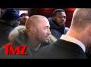 Jon Jones GSP -- AWKWARD ENCOUNTER ... At Super Bowl Party | TMZ