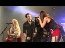 Nightwish gets 'SURPRISED' Visit on 'Last Ride of the Day' with Kamelot - Alissa - Elize.