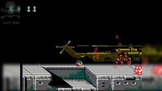 [Famiclone-50HZ]S-P1 Contra 24 in 1 - Gameplay