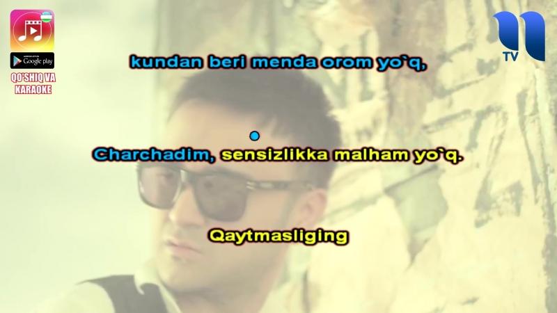 Shohruhxon - Darak yo'q UZBEK KARAOKE
