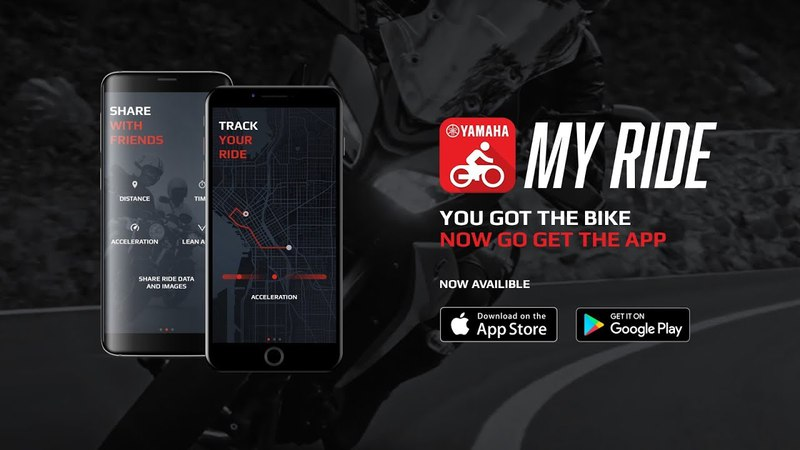 Yamaha MyRide app - The app to enrich your riding experience
