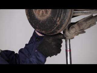 Fiat Doblo 2 (Фиат Добло 2) замена задних амортизаторов своими руками
