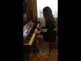 Шерлок Холмс - мелодия из сериала (игра на пианино)