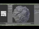 Разработка игр Урок 46 Создание планет Blender Gimp Unity