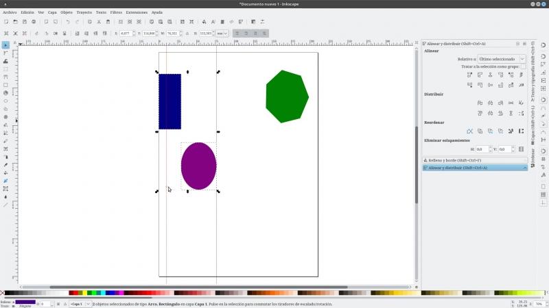 Presentando_inkscape (4) Alinear y Distribuir