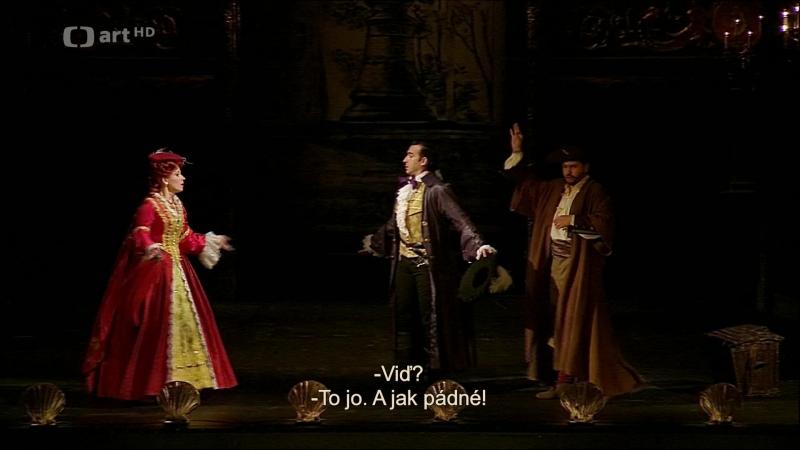 Národního divadla - Wolfgang Amadeus Mozart Don Giovanni (Прага, 2017) - Акт I