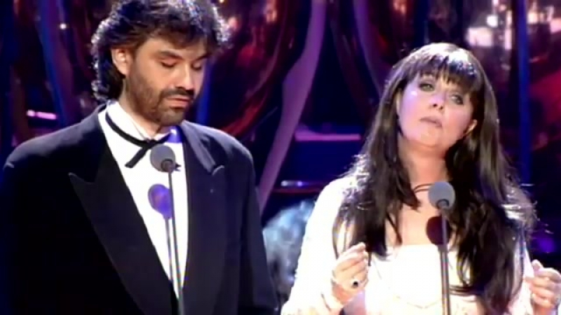 Sarah Brightman Andrea Bocelli - Time to Say Goodbye 1997 Video stereo widescreen