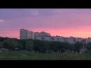 Лучшие закаты над парком Победы в 2017 году
