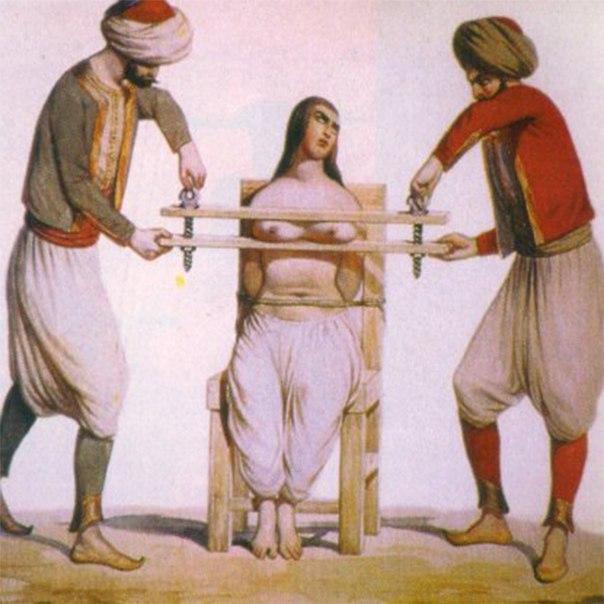 каким образом и каким предметом кабардинцы наказывает свою жену - 3