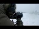 """Офицер СОБРа Управления Росгвардии по Пензенской области ведет огонь по неподвижной мишени из пистолета-пулемета СР-2М """"Вереск"""""""