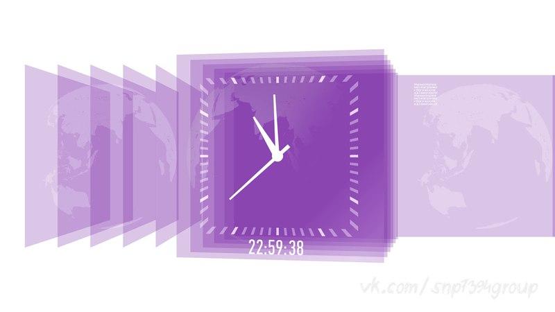 Пародия на часы Пятого канала (2010-2012)