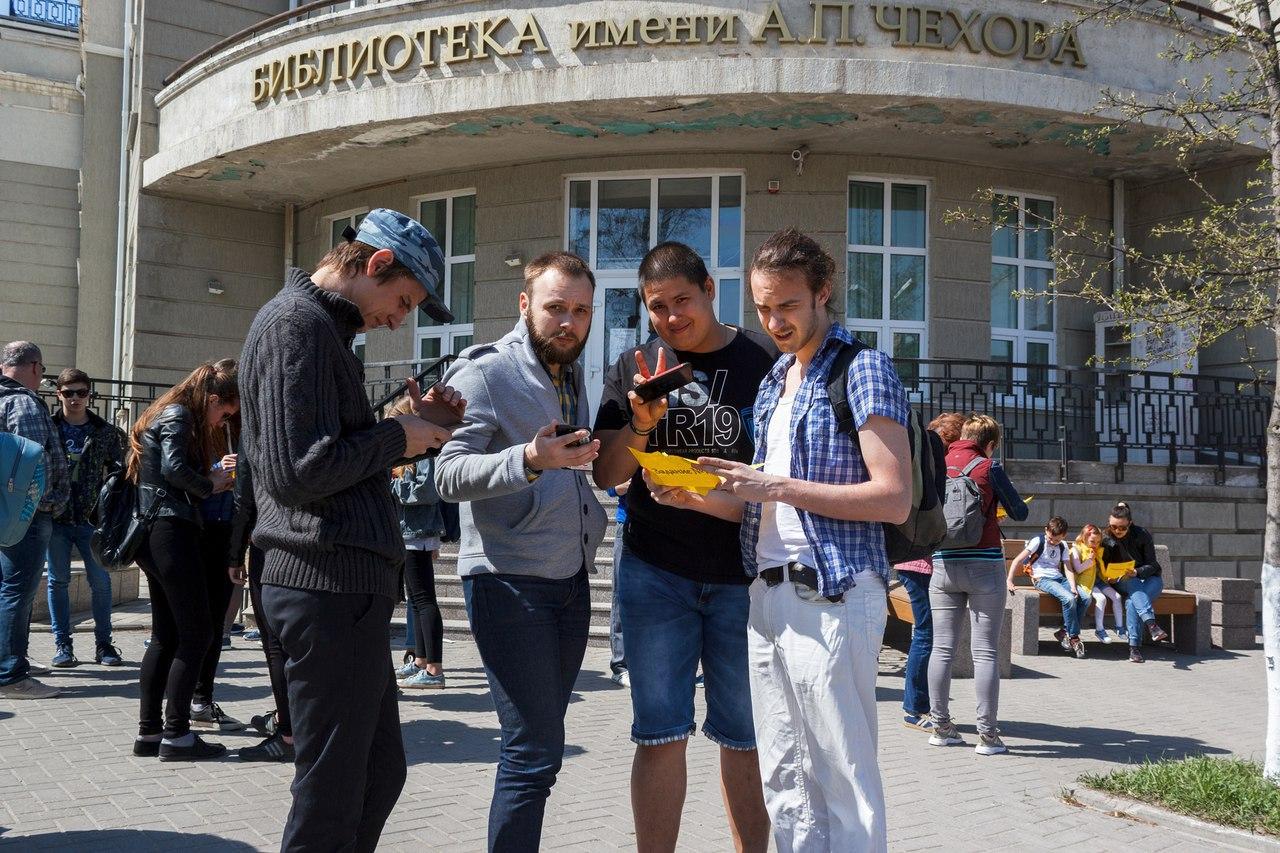 В Таганроге состоялся квест-экскурсия «Лики прошлого»