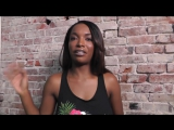 The return of ebony porn star Daya Knight- Does size matter