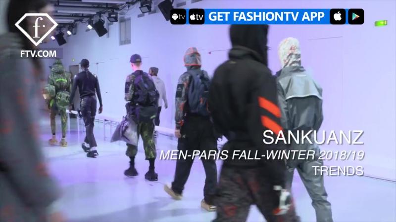 Sankuanz Paris Mens Fashion Week FW 2018