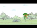 Действительно смешной мультик! НИ ПУХА НИ ПЕРА Качественный музыкальный мультфильм из Башкирии!