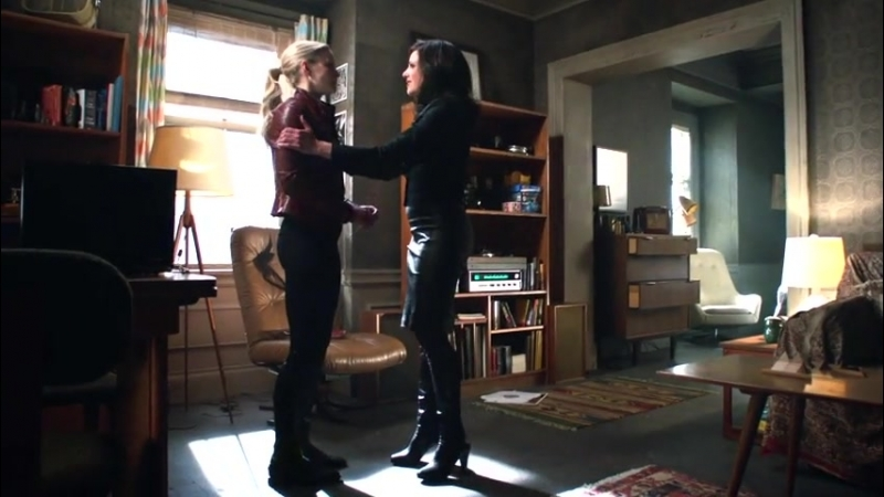 That time Regina approached Emma she went into gay panic overdrive…
