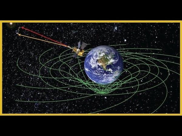 Сила гравитации - искривление пространства и времени.