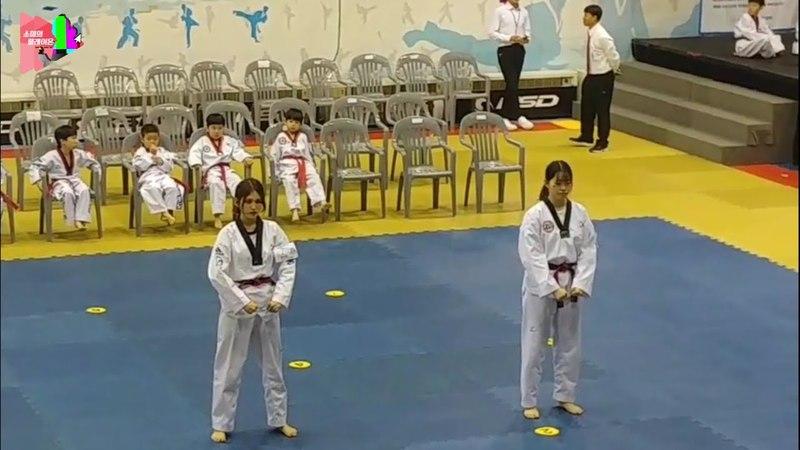 [전소미] 드디어 태권도 4품 따러간 소미 심사 영상 | somi taekwondo video