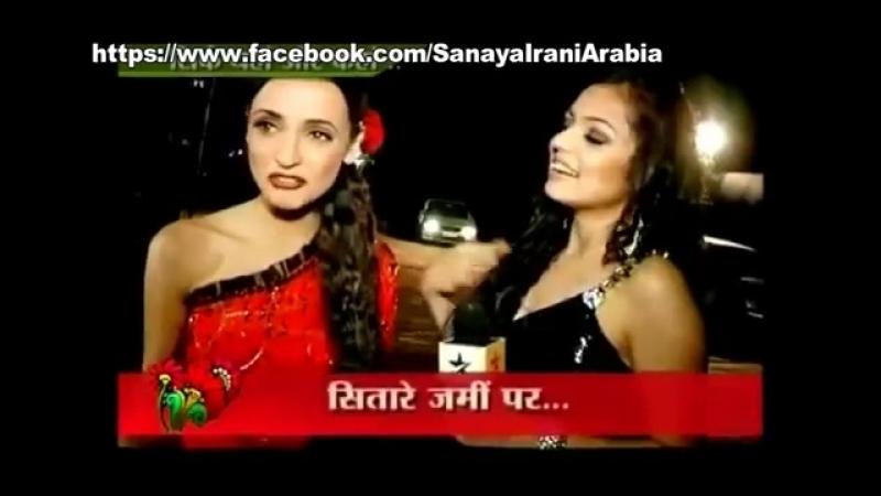 Санайя и Драшти на GR8 Women Achiever Awards 2012
