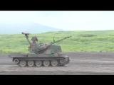 JGSDF - Fuji Совмещенный Firepower Упражнение 2014 Бронированный автомобиль Прямой эфир Обжиг [1080p]