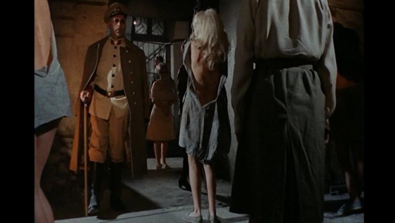 худ.фильм про тюрьму(бдсм: подчинение,изнасилование, бондаж, порка) 99 Woman(99 женщин) - 1969 год, Мария Шелл, Лучана Палуцци