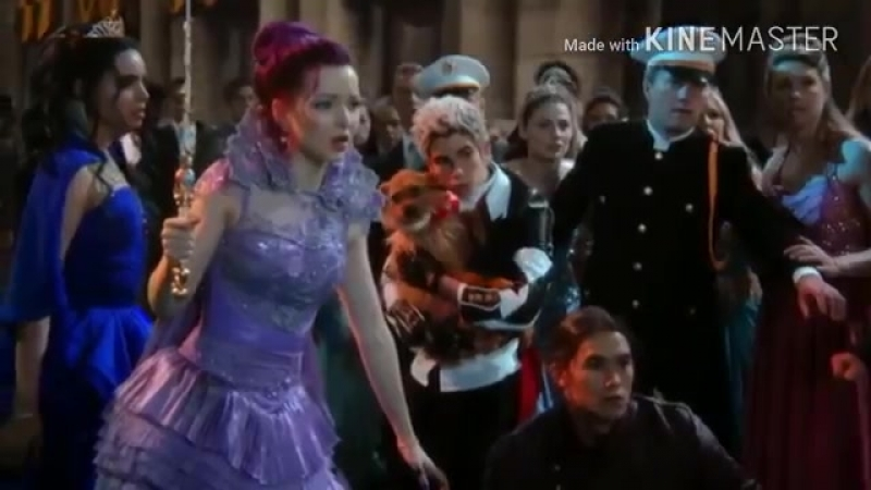 Descendants - Dealing with Maleficent (w-added music).mp4