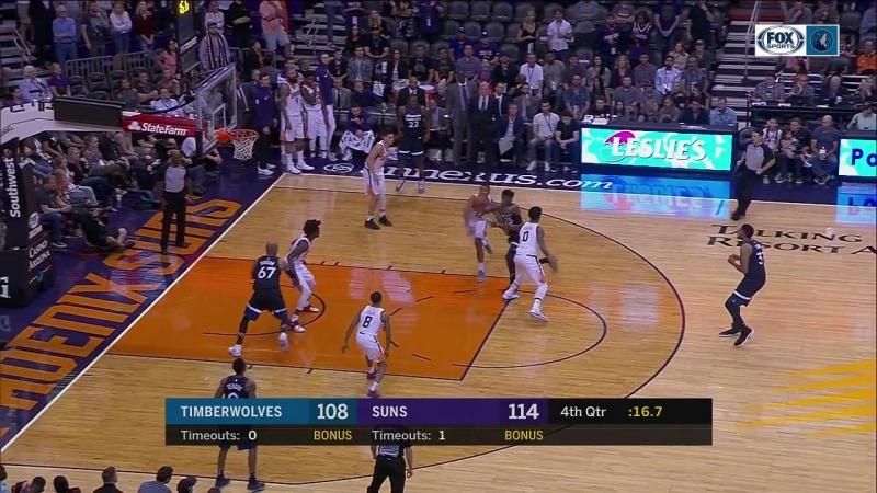 NBA 2017-18/ 11.11.2017 / Финикс - Миннесота