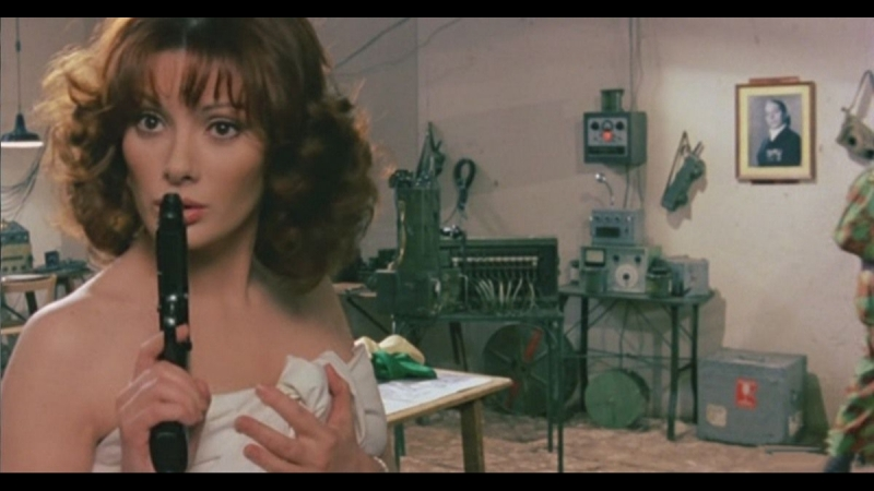 Х Ф Возмутительница спокойствия роты № 9 Медсестра и большие маневры Италия Франция 1978 Легкая эротическая комедия