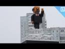 Ленин из Minecraft в Красноярске