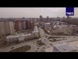 'Екатеринбург Арена'- вид сверху