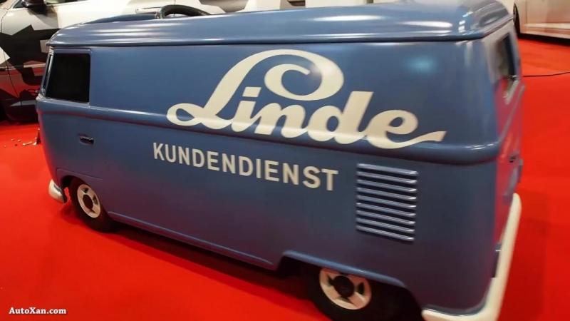 Volkswagen Bus T1 Linde kundendienst - Trap auto (pedal car) - Exterior LookArou