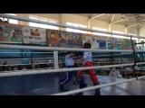Адамия Георгий (синий угол) vs Вельберг Вова (красный угол), финал, раздел лайт-контакт, 1 раунд!