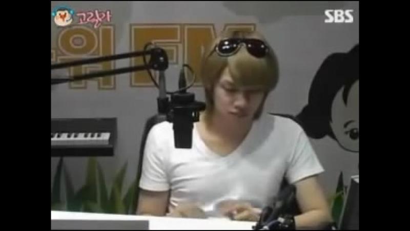100601 Heechul dancing to Love(C.N.Blue)