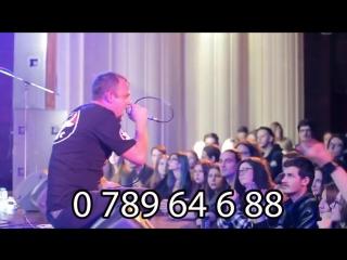 Anunțarea concertului Che MD Chișinău 3 februarie clubul 'METEORA' mp4