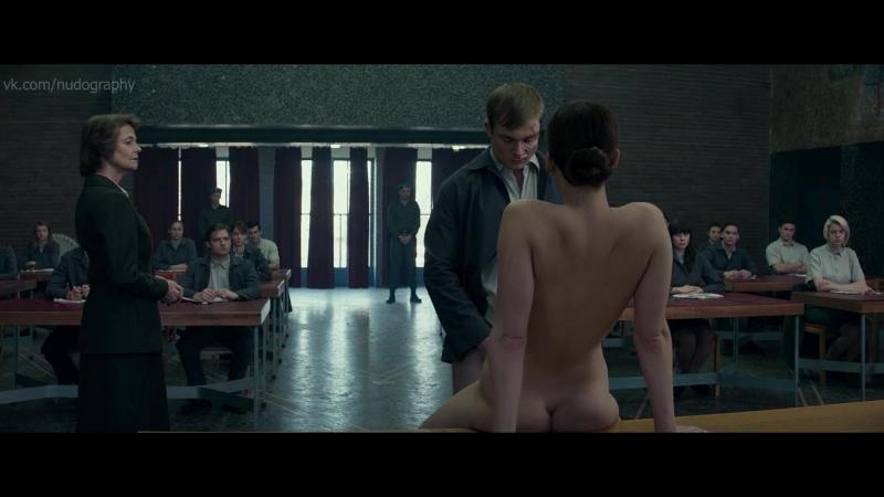 Дженнифер Лоуренс (Jennifer Lawrence) голая в фильме Красный воробей (Red Sparrow, 2018, Френсис Лоуренс) 1080p