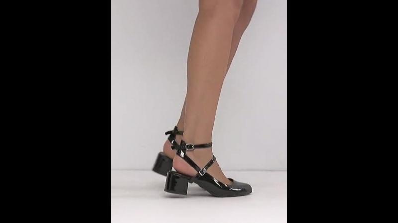 Актуальные лакированные туфли с ремешком вокруг щиколотки New Look ASOS