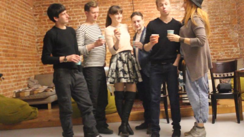 Актерский старый новый год, Академия Супергероев Лофт - тост:)